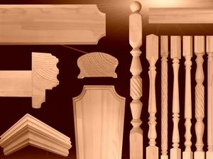 Элементы для лестниц из дерева