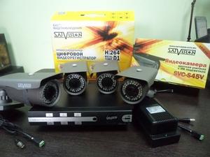 Комплект оборудования для систем видеонаблюдения