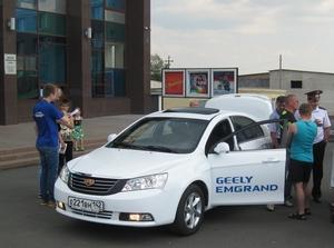 Тест-драйв автомобилей GEELY в г. Анжеро-Судженск 7 июля!