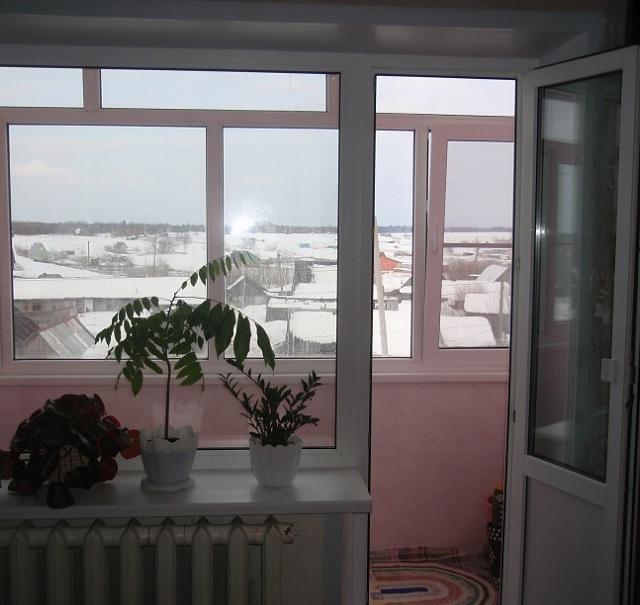 Монтаж балконных дверей