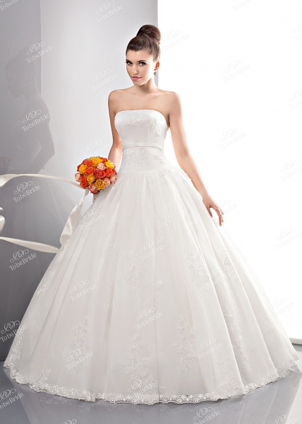 Свадебное платье PD0007N, Пышное (принцесса), цвет белый - Свадебный салон Шик