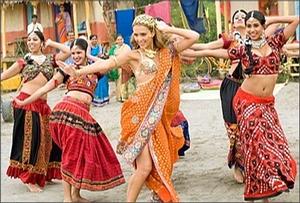 17 апреля - открытый урок по индийскому танцу для юных богинь.