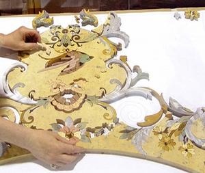 Изготовление мозаики или панно