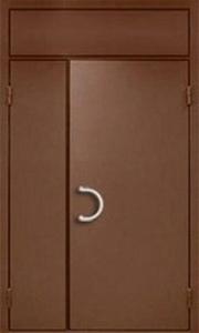 Домофонные подъездные металлические двери