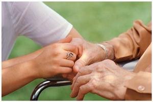 Служба ухода за больным: с проживанием, частичная занятость