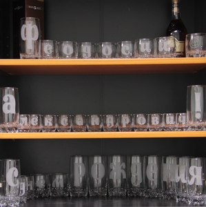 Оригинальная гравировка на стопках, стаканах, бокалах!