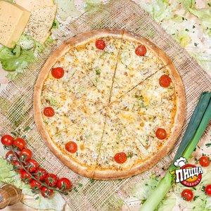 Пицца из настоящего домашнего теста