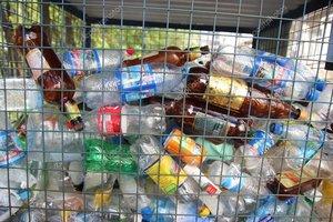Выбрасывайте бутылки в специальные контейнеры