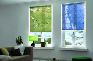 Рулонные шторы на пластиковые окна купить | Тюмень VISSION