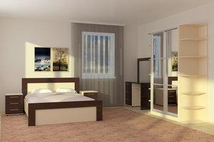 НОВИНКА ассортимента: уникальные спальные гарнитуры на заказ
