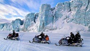"""Загадочная Арктика! Экскурсионный тур на снегоходах """"Шпицберген. От Свальбарда до Груманта. """""""