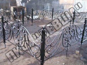 Ритуальные изделия. Крест, ограда
