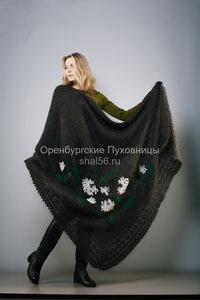 Вязанные платки в Оренбурге