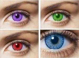 Цветные контактные линзы - в Туле купить просто и выгодно!