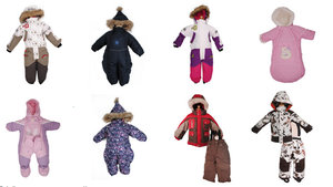 Распродажа детских зимних комбинезонов и зимних комплектов