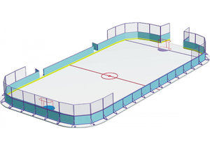 Хоккейный корт. Оптовая и розничная продажа хоккейных кортов в РФ и СНГ