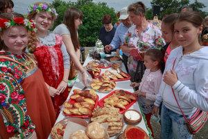 На Куликовом поле отметили главный государственный праздник страны