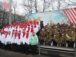 Торжественный митинг, посвященный 73-й годовщине Победы в Великой Отечественной войне