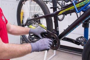Настройка велосипедов для хранения