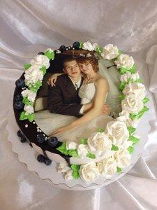 Торт с вашей фотографией