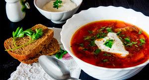 Традиционные блюда русской кухни