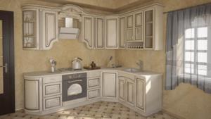Кухня патина: доступная роскошь!