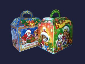 Новогодняя упаковка для подарков. Звоните!