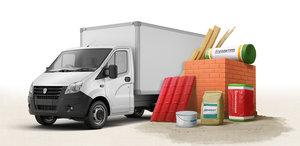Доставка строительных материалов в Оренбурге
