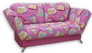 Детские диваны: большой выбор вариантов красочной обивки!