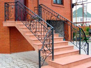 Лестницы парадные, фасадные
