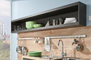 Рейлинги для удобного размещения кухонной утвари!