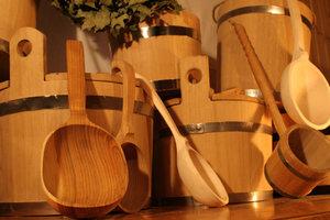 Изготовление и продажа бондарных изделий для бани