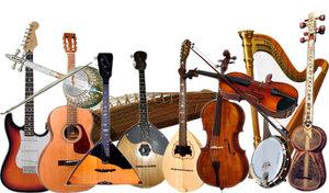Струнные музыкальные инструменты в Орске