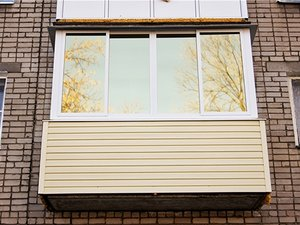 Тонировка балкона и лоджии