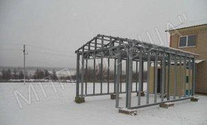 Строительство складов и ангаров по индивидуальным проектам