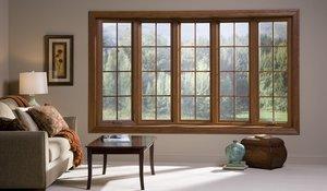 Окна из натурального долговечного материала