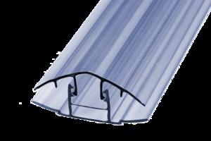 Соединительный (торцевой) профиль для поликарбоната в Череповце