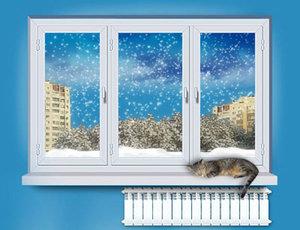 Как ухаживать за пластиковыми окнами зимой?