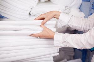 Стирка постельного белья в прачечной в Вологде