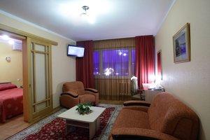 Номер в гостинице в центре Красноярска