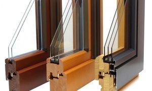 Изготовление и установка деревянных окон со стеклопакетами