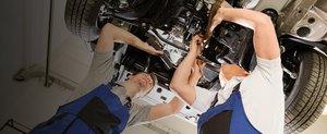 Ремонт передней подвески автомобиля Хонда