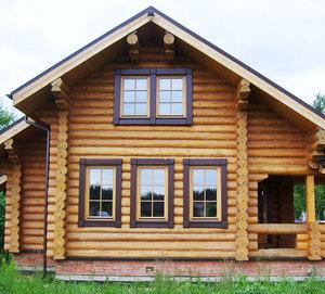 Заказать окна в деревянный дом с установкой в Вологде