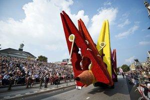 Фестиваль георгин в Голландии: неудержимый цветочный креатив