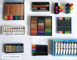Предметы для художественной школы