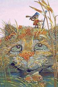 Выставка иллюстраций Сергея Сачкова «Кошки в обложке»