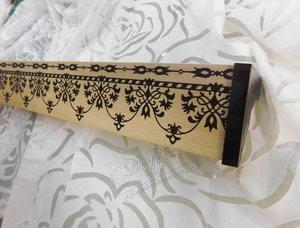 Новая коллекция потолочных ПВХ-карнизов с широкими декоративными планками с классическим орнаментом
