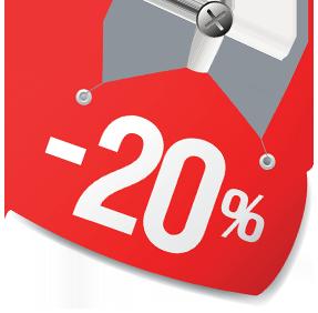 Доставка суши Banzaй Wok дарит 20% скидку!