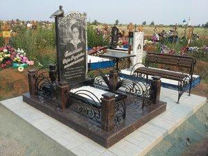 Благоустройство захоронений в Орске