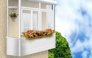 Остекление балконов в Котласе